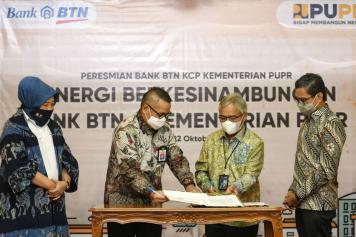 Bank BTN Sediakan Jasa dan Layanan Perbankan di Kementerian PUPR