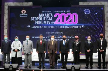 Gubernur Lemhanas Tutup Jakarta Geopolitical Forum IV 2020