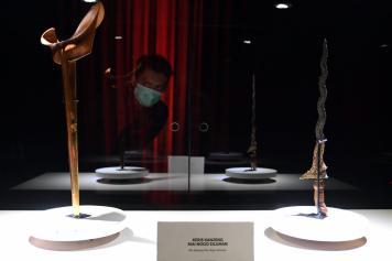Pusaka Peninggalan Pangeran Diponegoro Dipamerkan di Museum Nasional