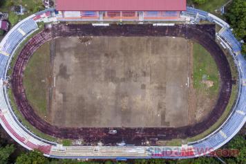 Progres Renovasi Stadion Madya Bumi Sriwijaya