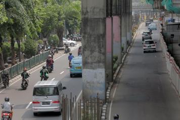 13 Tahun Tiang Pancang Jakarta Monorel Mangkrak
