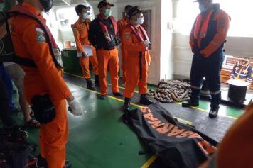Nelayan Temukan Potongan Tubuh Penumpang Sriwijaya Air SJ182