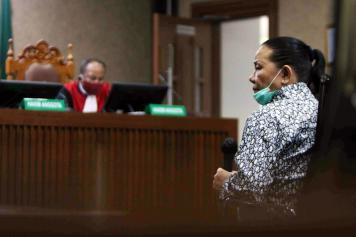 Pembobol BNI Maria Pauline Lumowa Jalani Sidang Perdana