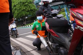 DLH DKI Jakarta Gelar Uji Emisi Gratis
