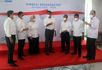 BP Jamsostek Resmi Perkenalkan Jajaran Direksi Periode 2021-2026