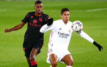 Real Madrid Ditahan Imbang Sociedad 1-1