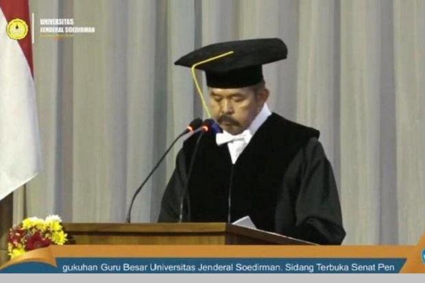 Unsoed Kukuhkan Jaksa Agung ST Burhanuddin sebagai Profesor Ilmu Hukum Pidana
