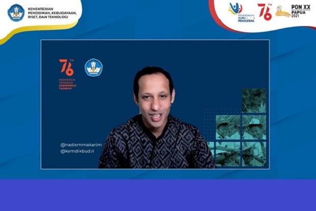 Nadiem Minta Vaksinasi Guru Dituntaskan untuk Tingkatkan PTM Terbatas