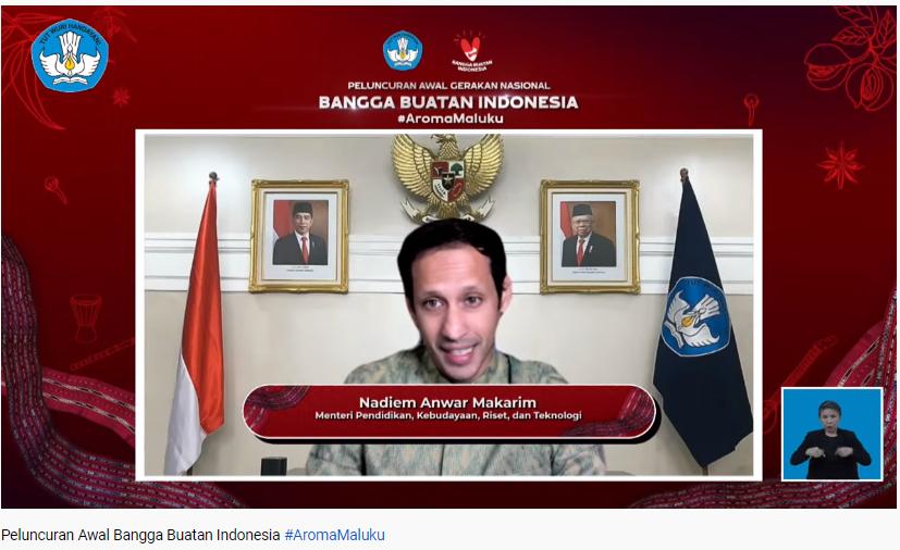Mendikbudristek Luncurkan Gernas BBI Aroma Maluku