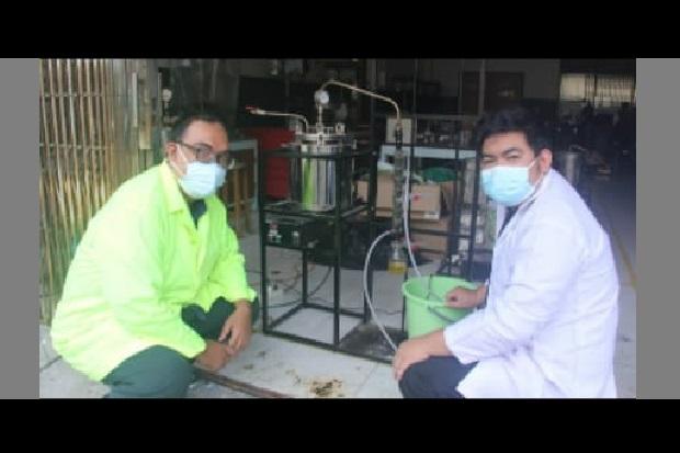 FTI UII Olah Limbah Masker Jadi Bahan Bakar Minyak
