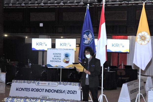 Kontes Robot Indonesia Wilayah I 2021 Berakhir, Ini Daftar Pemenangnya