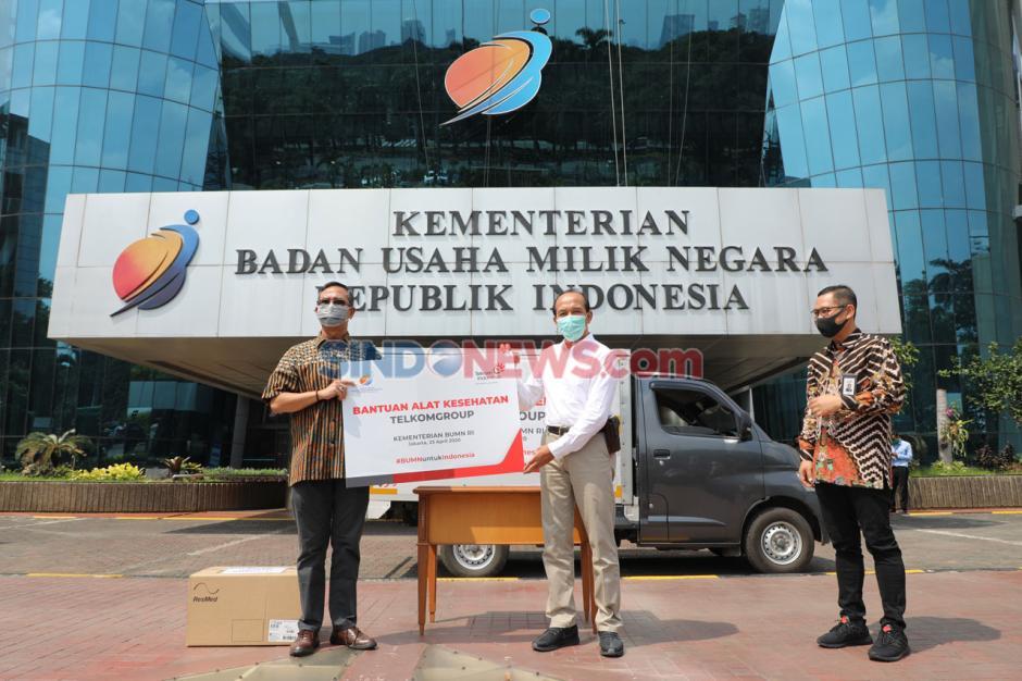 TelkomGroup Serahkan 44 Ventilator kepada Yayasan BUMN Untuk Indonesia-4
