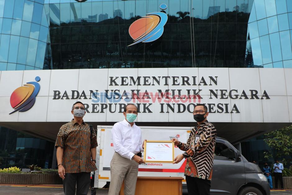 TelkomGroup Serahkan 44 Ventilator kepada Yayasan BUMN Untuk Indonesia-2