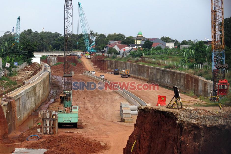 Pembangunan Jalan Tol Serpong-Cinere Terus Dikebut-0