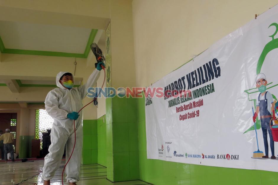 Etape Kedua, Marbot Keliling JJI Bersihkan Dua Masjid di Kebayoran Lama-1