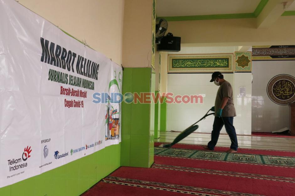 Etape Kedua, Marbot Keliling JJI Bersihkan Dua Masjid di Kebayoran Lama-4