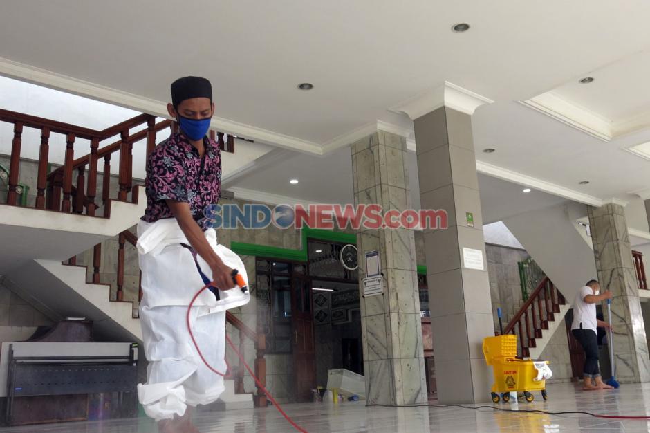 Etape Kedua, Marbot Keliling JJI Bersihkan Dua Masjid di Kebayoran Lama-10