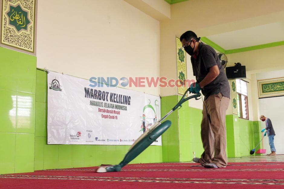 Etape Kedua, Marbot Keliling JJI Bersihkan Dua Masjid di Kebayoran Lama-5