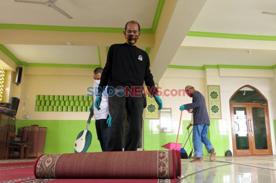 Etape Kedua, Marbot Keliling JJI Bersihkan Dua Masjid di Kebayoran Lama-6