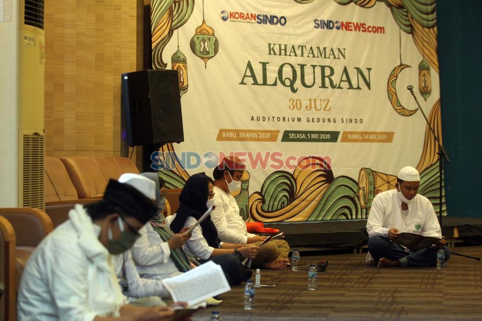 Koran SINDO dan Sindonews Gelar Khataman Al-Quran 30 Juz-6