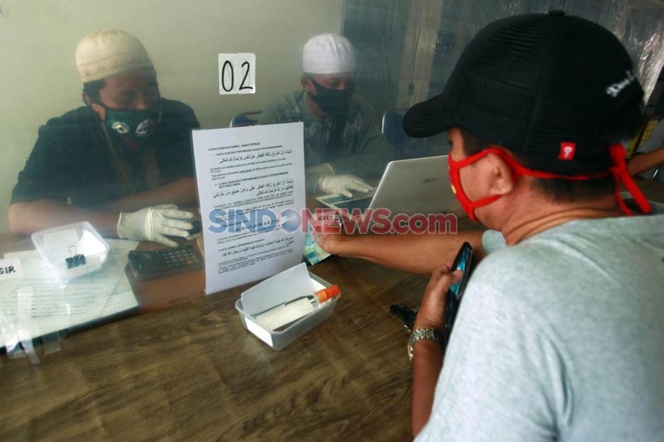 Penerapan Physical Distancing Pembayaran Zakat Fitrah-6
