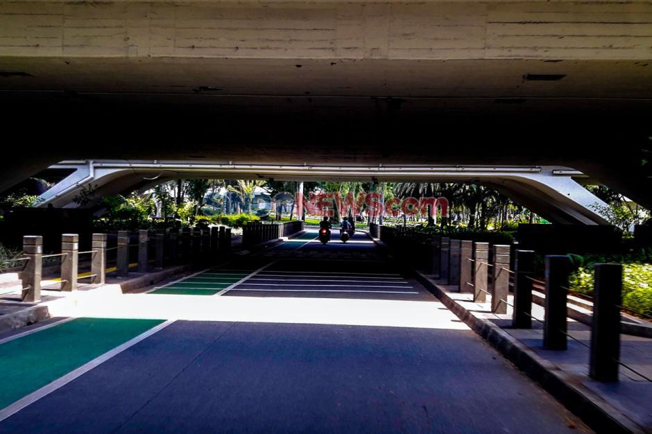 Libur Lebaran Hari Kedua, Jalanan Jakarta Lengang-1