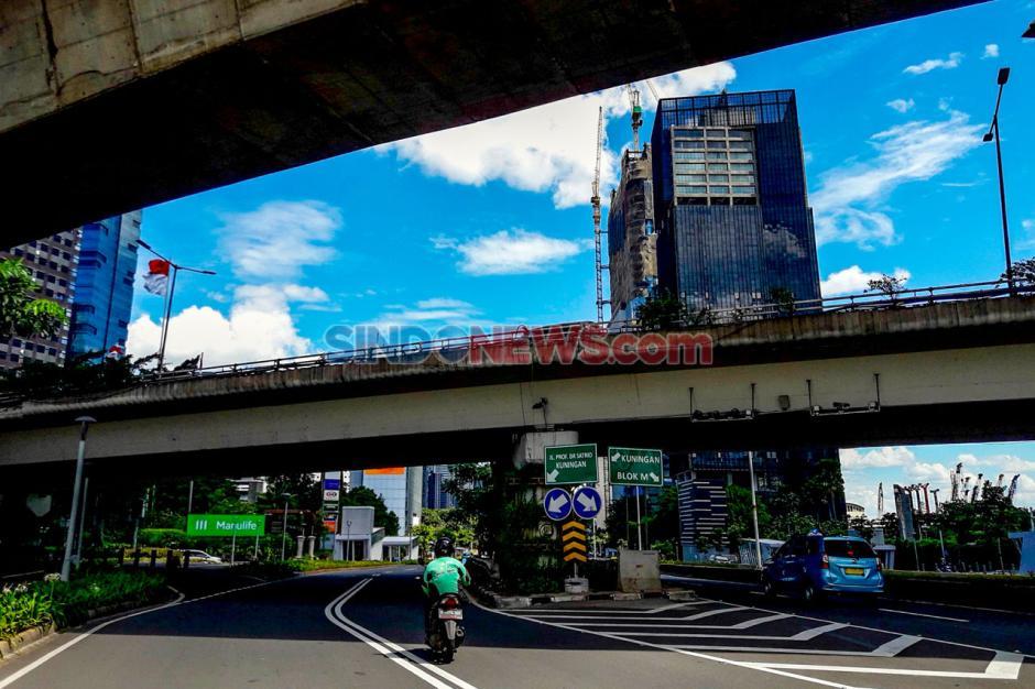 Libur Lebaran Hari Kedua, Jalanan Jakarta Lengang-3