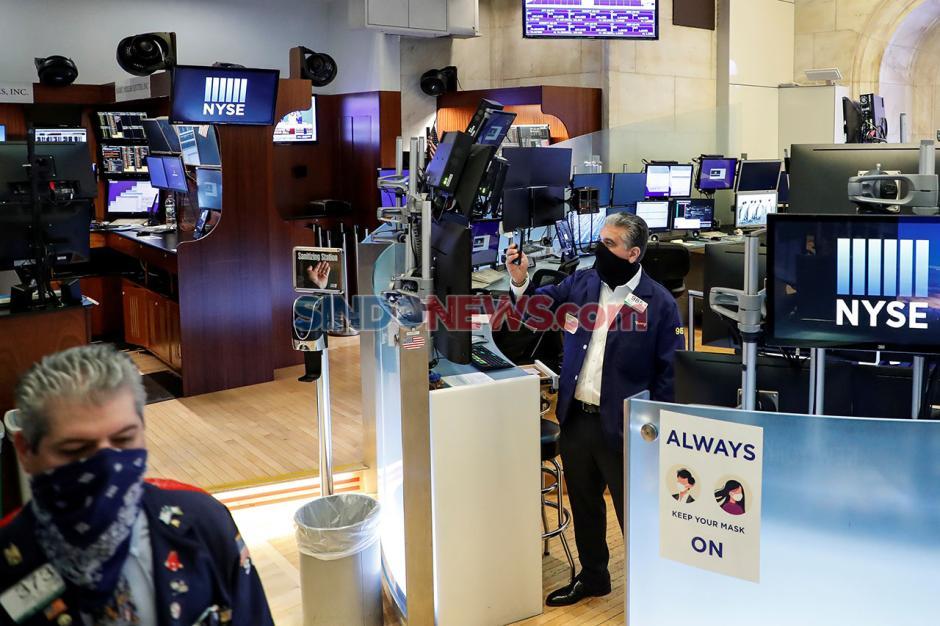 Wall Street Dibuka Setelah Tutup Dua Bulan, Ini Suasananya-0