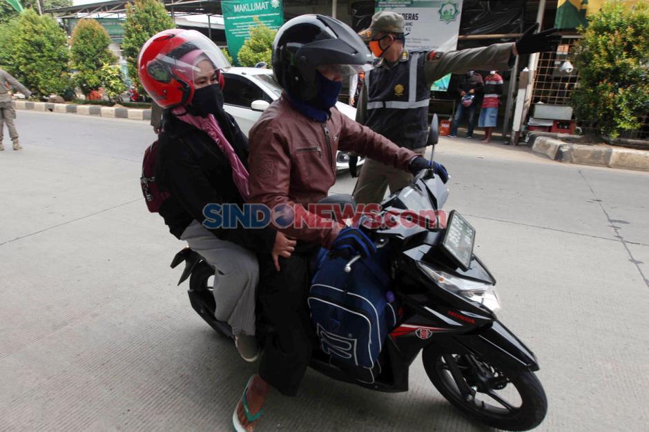Hendak Masuk Jakarta, Pemudik Dipaksa Putar Balik-0