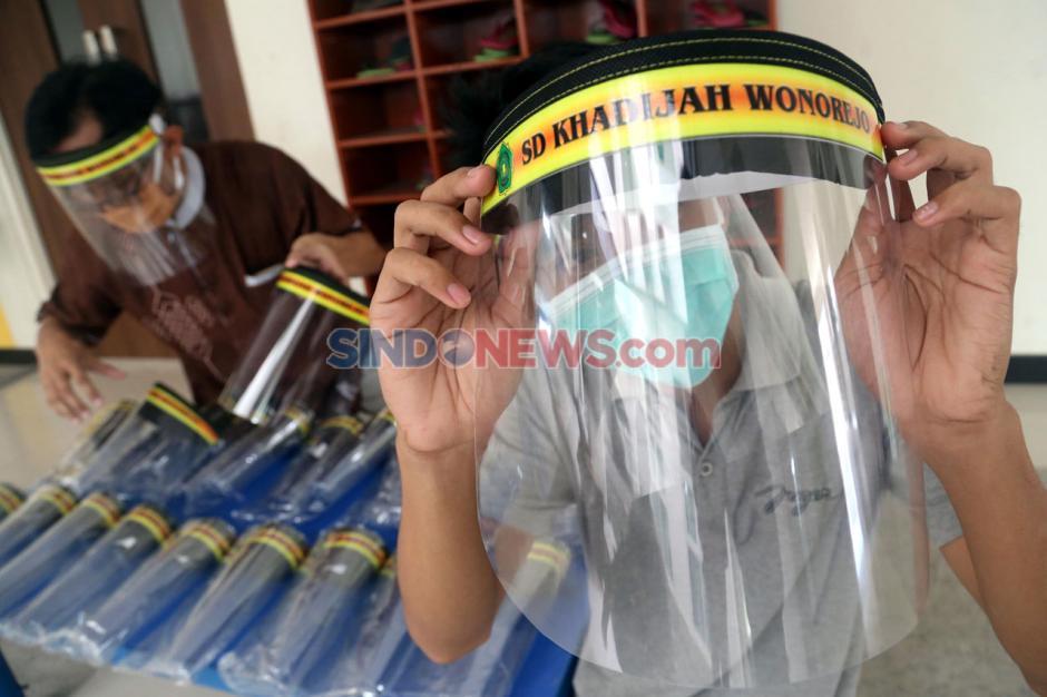 Persiapan SD Khadijah Wonorejo Surabaya Hadapi New Normal-5