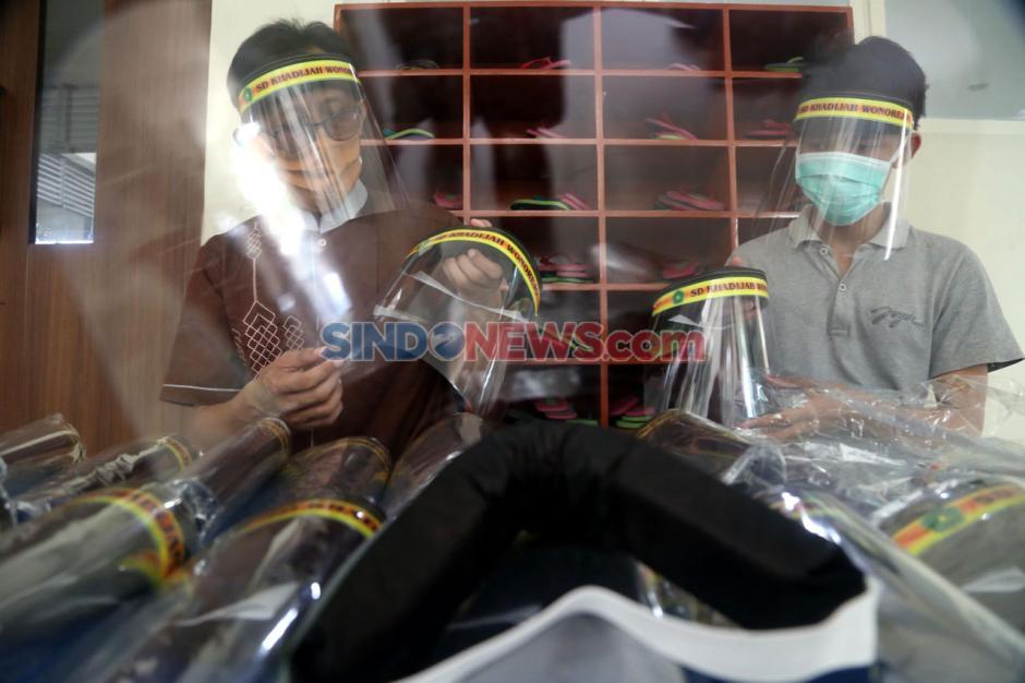 Persiapan SD Khadijah Wonorejo Surabaya Hadapi New Normal-7