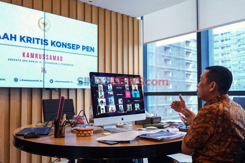 Pandangan Anggota DPR Komisi XI Kamrussamad Terkait Penerapan New Normal-1
