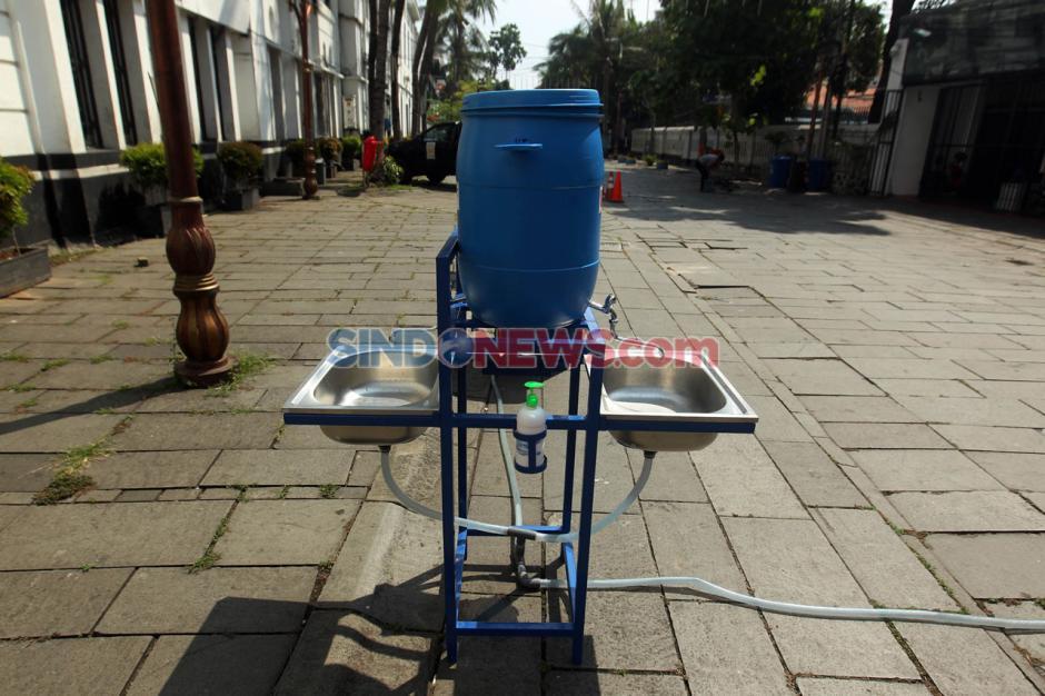 Kawasan Wisata Kota Tua Jakarta Bersiap Terapkan Protokol New Normal-5