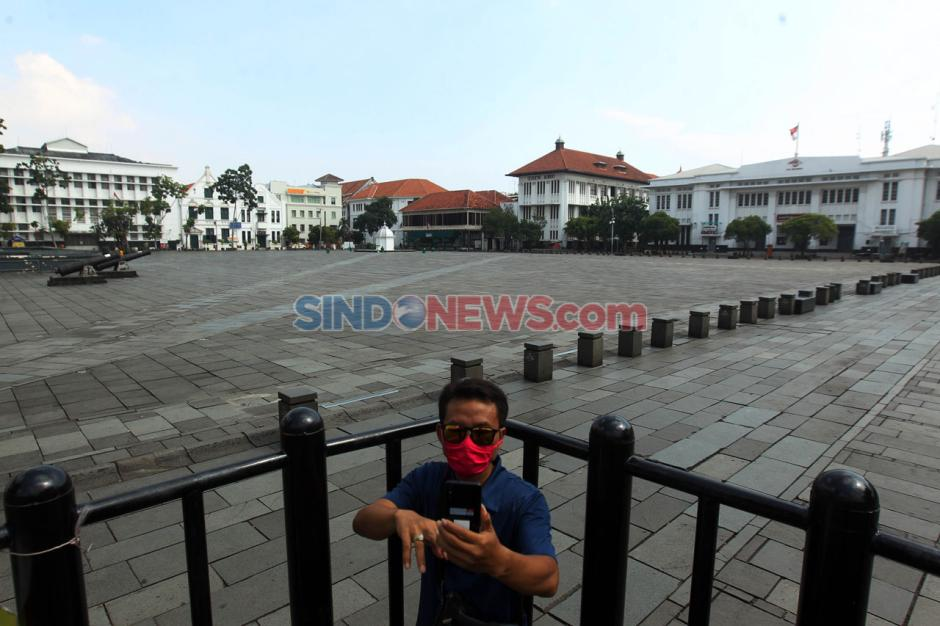 Kawasan Wisata Kota Tua Jakarta Bersiap Terapkan Protokol New Normal-9