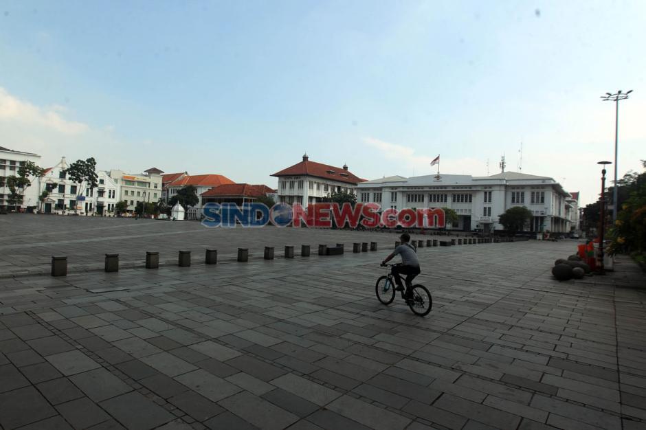 Kawasan Wisata Kota Tua Jakarta Bersiap Terapkan Protokol New Normal-0