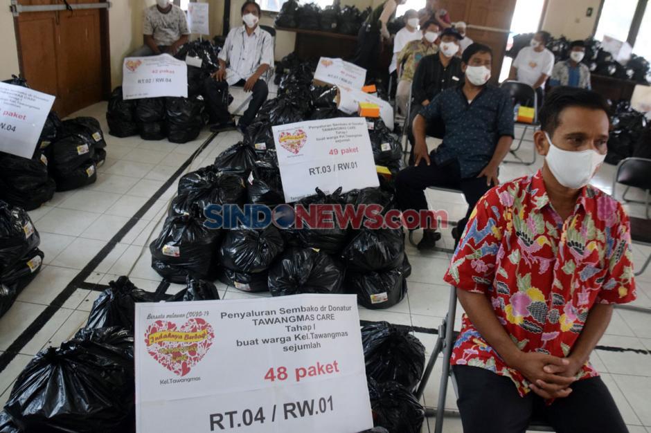 Semarang Indah Care Distribusikan Ribuan Paket Sembako ke Warga Terdampak Covid-19-1