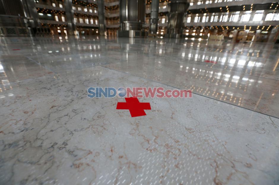 Terapkan Protokol Kesehatan, Masjid Istiqlal Siap Sambut New Normal-4