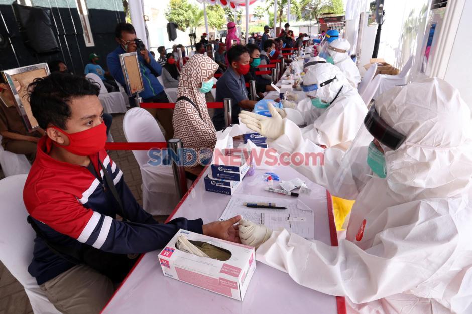 BIN Gencarkan Tes Corona di Surabaya-6