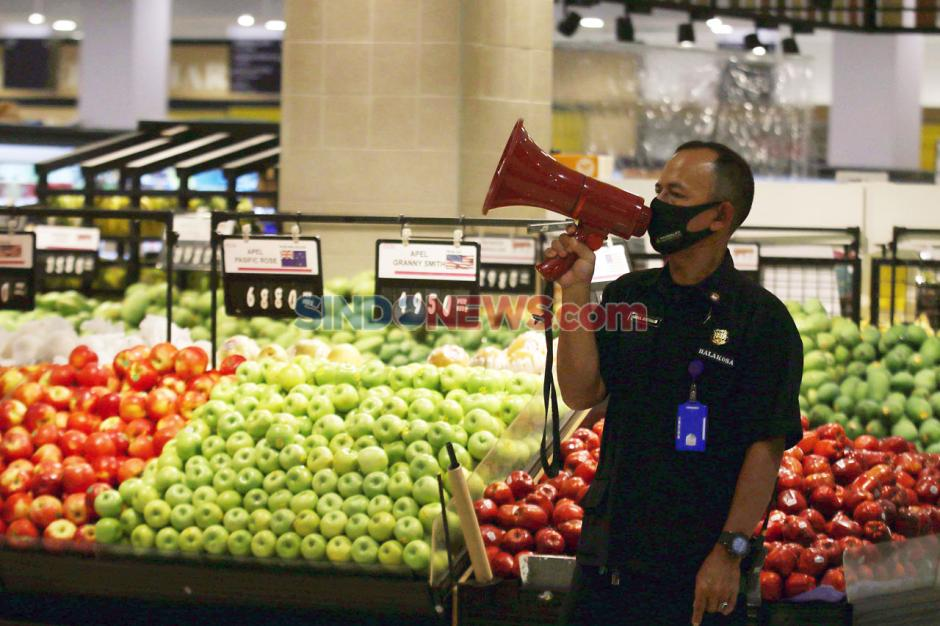 AEON Supermarket Tangsel Terapakan Tatanan Normal Baru-5