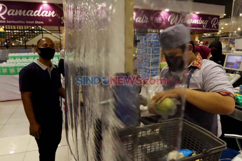 AEON Supermarket Tangsel Terapakan Tatanan Normal Baru-0