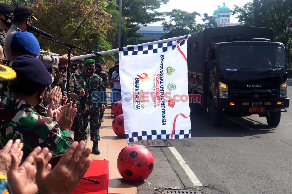 Alumni Akabri 96 Bharatasena Bagikan Sembako Kepada Warga Terdampak Covid-19-2