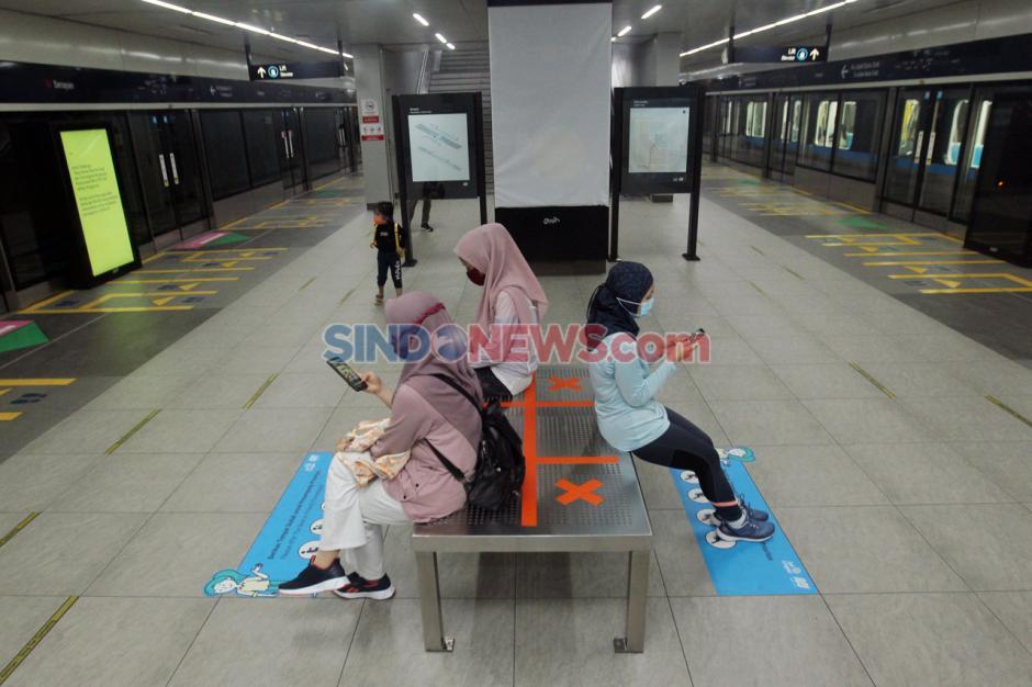 MRT Jakarta Ubah Jadwal Operasional di Masa Transisi PSBB-2