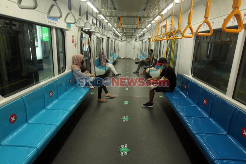 MRT Jakarta Ubah Jadwal Operasional di Masa Transisi PSBB-6