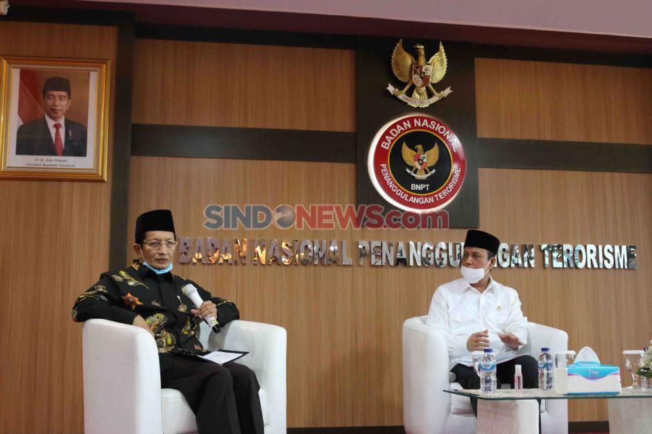 Imam Besar Masjid Istiqlal Bicara Virus Radikalisme di FGD BNPT-0