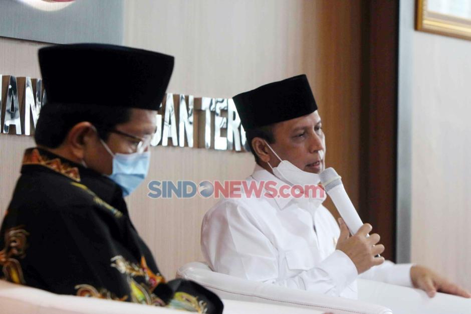 Imam Besar Masjid Istiqlal Bicara Virus Radikalisme di FGD BNPT-1