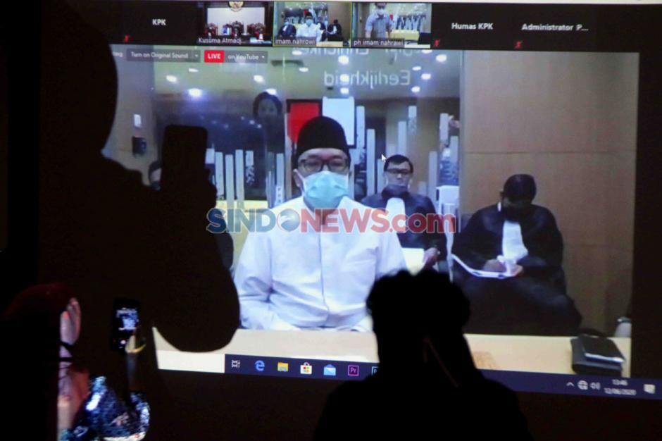 Kasus Suap Dana Hibah KONI, Eks Menpora Imam Nahrawi Dituntut 10 Tahun Penjara-3