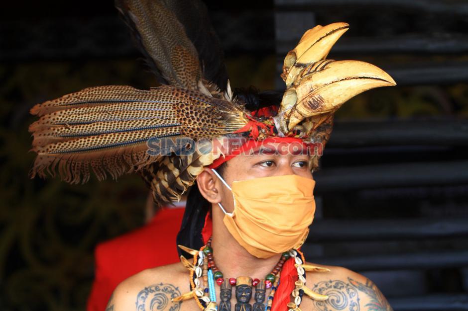 Suku Dayak Kanayatn Gelar Sidang Hukum Adat Kasus Ujaran Kebencian-0