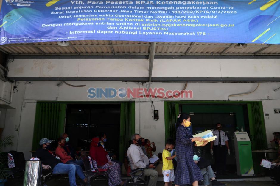 BPJamsostek Surabaya Perak Tetap Buka Layanan di Masa Pandemi Covid-19-5