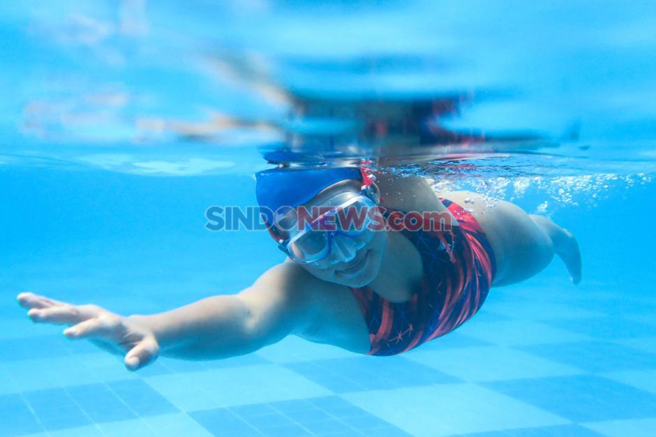 Latihan Mandiri Atlet Underwater Hockey Cyntia Amilia Kinasih-2