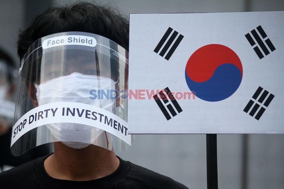 Aktivis Kembali Gelar Aksi Tolak Pembangunan PLTU Jawa 9 Dan 10-3